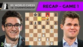 Carlsen vs Caruana (Game 1 Analysis) | World Chess Championship 2018