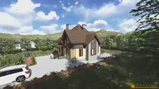 Проект дома из теплоблока ТБ 52 (170 м2)