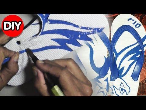TUTORIAL UKIR SANDAL JEPIT - Carving Flip flops
