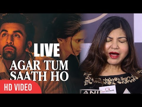 Agar Tum Saath Live | Alka Yagnik | Tamasha | Ranbir, Kapoor, Deepika Padukone