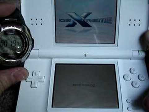 DS-X load time