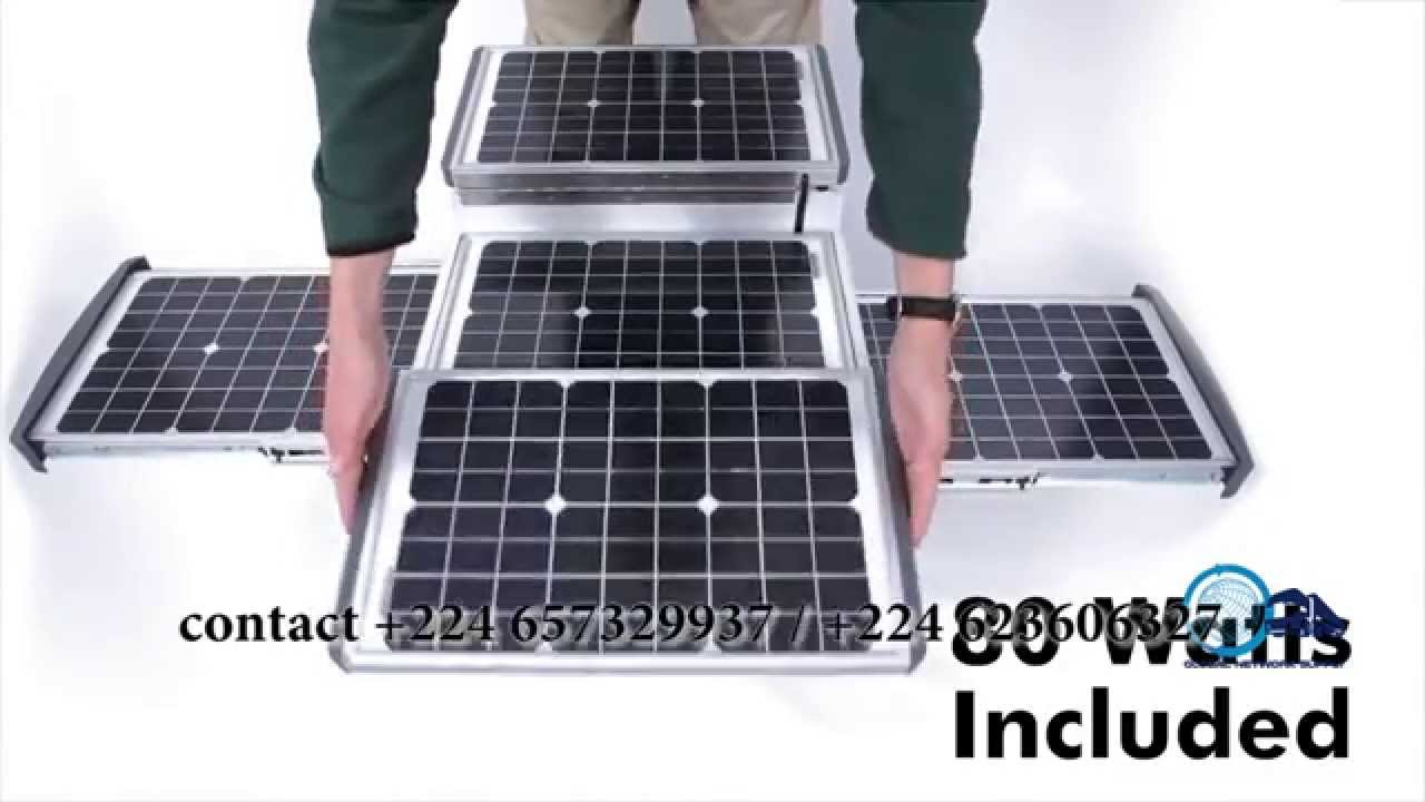 Power Solar Cube By Global Network Supply Guinea Youtube