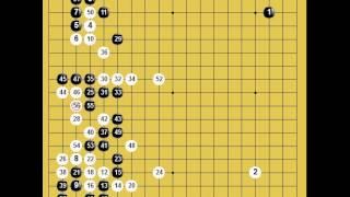 囲碁棋譜再現 第18期女流棋聖戦挑戦手合三番勝負第1局 黒:小西和子 vs 白:謝依旻