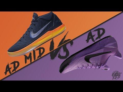 Nike Kobe A.D. MID vs Kobe A.D.!