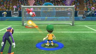 Mario and Sonic at The Rio 2016 Olympic Games #Football Penalty shoot out- All Character