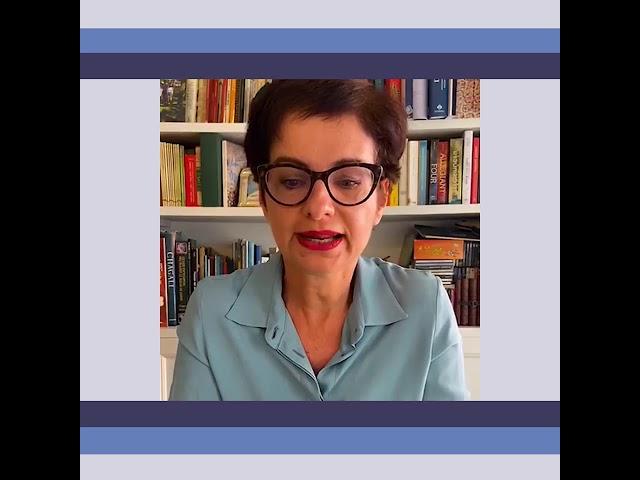 Denise Ruben ci spiega la sala libica del Museo.