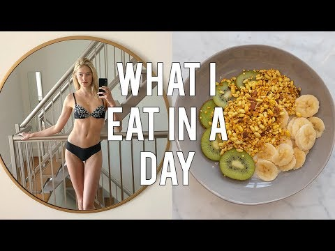 What I Eat In A Day As A Model | Fashion Week Preparation | Sanne Vloet