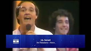 Eurovision 1982: My top 18