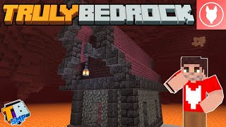 Truly Bedrock SMP - S2 : E29 - Starting a Nether Village!