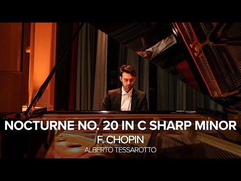 F. Chopin - Nocturne No. 20 in C sharp minor (Alberto Tessarotto)