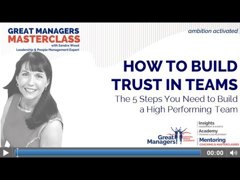 How to Build Trust in Teams