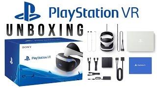 Распаковка: PlayStation VR