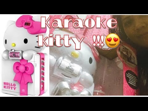 hello kitty video karaoke recording all in