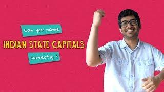 Can You Name Indian State Capitals Correctly? | Ft. Akshay & Kanishk | Ok Tested