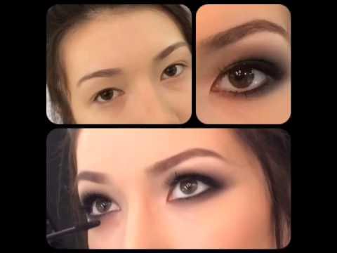 Макияж для азиатских глаз увеличивающий глаза6