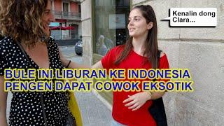BULE INI KALAU KE INDONESIA PENGEN COWOK YANG 3KSOTIK