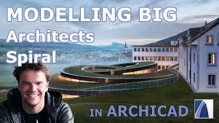 BIG architects Spiral Modellin…