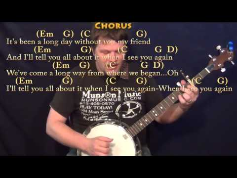 Guitar guitar tablature with lyrics : Guitar : guitar tabs of see you again Guitar Tabs Of See as well ...