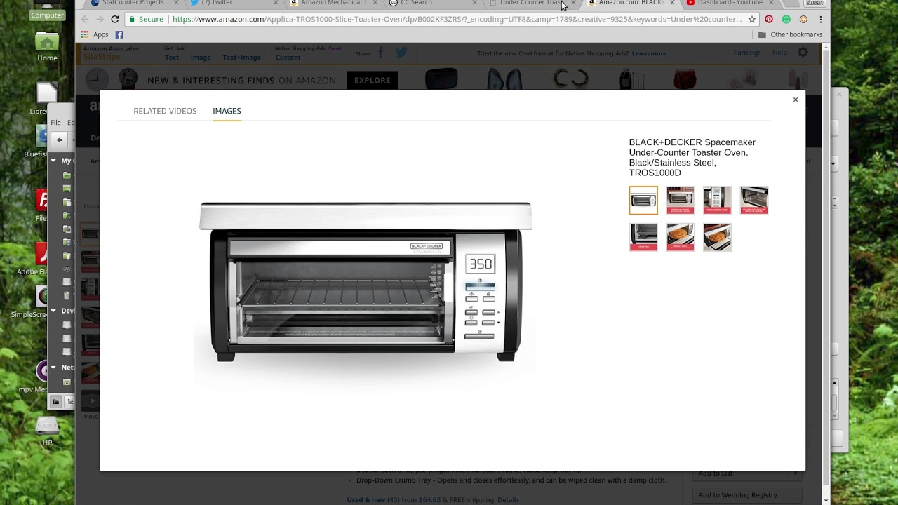 Under Counter Toaster Oven For Sale
