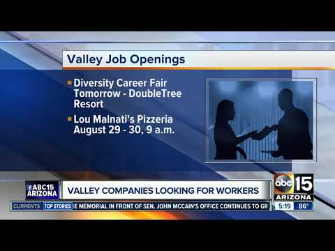 Jobs open in Phoenix