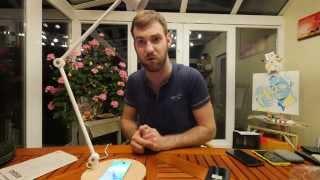 Ikea Riggad Qi Wireless Desklamp Review [4k Uhd]