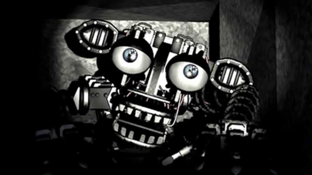 Five nights at freddy s 2 theory empty endo skeleton spotted