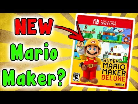 Super MARIO MAKER SWITCH? Hmm, What Would It Be Like?