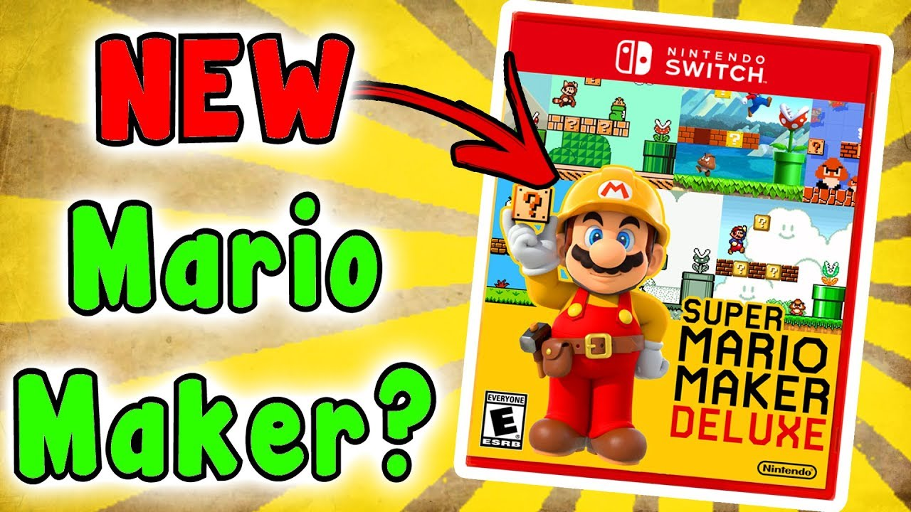 Super MARIO MAKER SWITCH? Hmm, What Would It Be Like? - YouTube