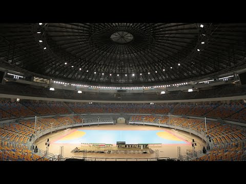 Philips ArenaVision LED Project, Cairo Stadium Indoor hall 2016