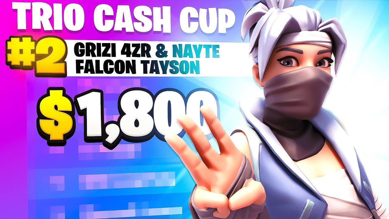 2ND PLACE TRIO CASH CUP (1,800$) 🏆 w/ TaySon & Nayte   4zr