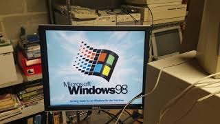 Old Computer Misadventures Episode 8 - Upgrading the Packard Bell to Windows 98 Second Edition