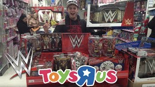 WWE CHRISTMAS EPIC TOY HUNT!!!!!