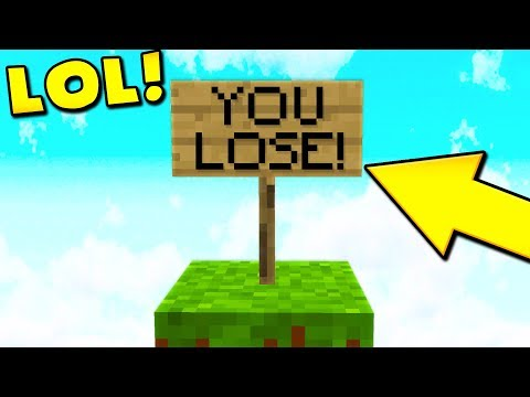 THIS MAP IS STUPID... (Minecraft Pocket Edition)