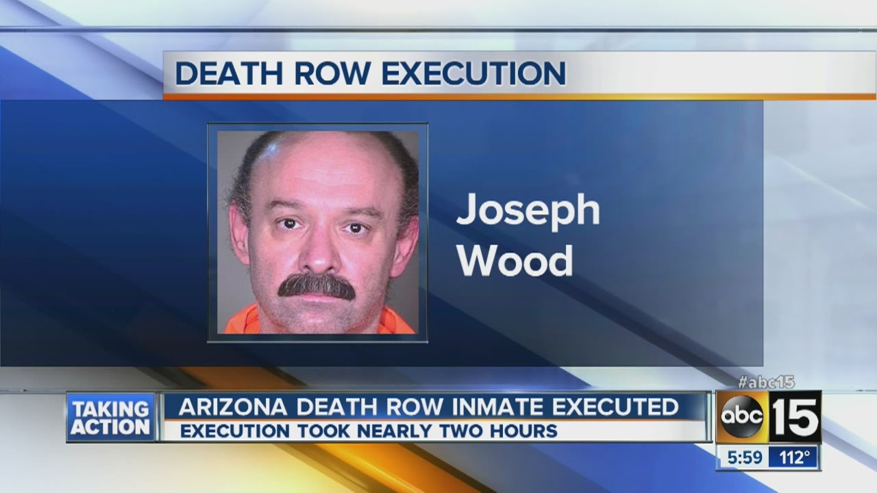 Arizona death row inmate James Wood executed
