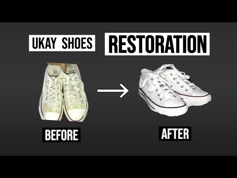 How to Remove Yellow Stains on Ukay Shoes