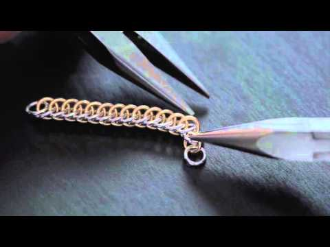 How To Make a Beautiful Chainmail Bracelet and Earrings