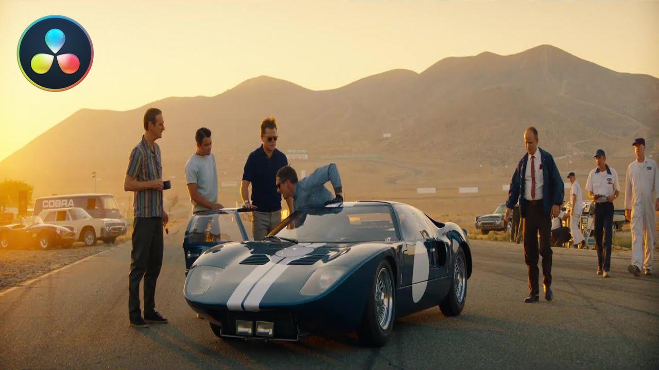 Ford V Ferrari Look Davinci Resolve 16 Cinematic Color Grading Tutorial Youtube