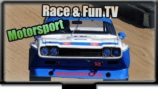 Ford Capri RS 2600 - Motorsport Pur - Rennsport - Sound und racing action - in Donington