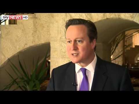 Cameron: 'Blair? We're Not Friends'