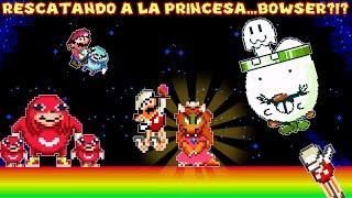 Rescatando a la Princesa...BOWSER?!? - Jugando Diagonal Mario 2 con Pepe el Mago (FINAL)