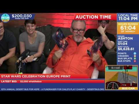 DB10 - Star Wars Celebration Europe print ($4000)