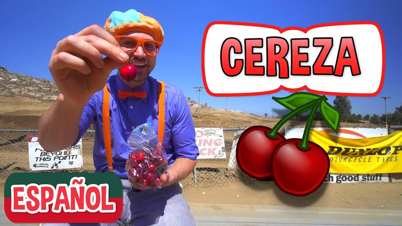 Blippi visita un granja de cerezas | Nuevo Video! | Videos Educativos para Niños