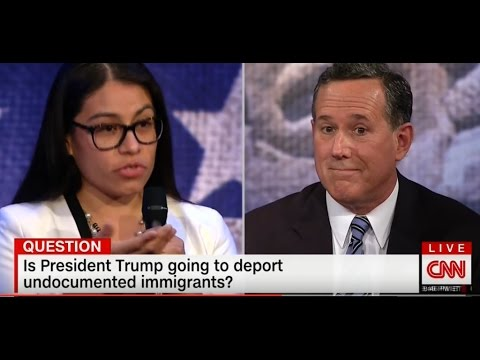 Santorum Tells Young Dreamer To Get Out of The Country