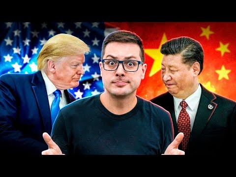 A TRETA é FEIA e o MUNDO TECH sai PERDENDO! USA vs CHINA! O NEGÓCIO tá TENSO!