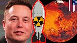 Terraform Mars: Elon Musk says nukes, greenhouse gas may make Mars habitable for humans - TomoNews