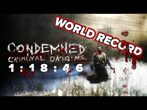 Condemned Any% Speedrun - 1:18:46 [Former World Record]