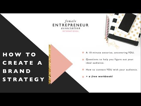 How to create a brand strategy + free printable