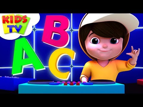 ABC Hip Hop Song |Junior Squad Cartoons | Kindergarten Nursery Rhymes For Kids