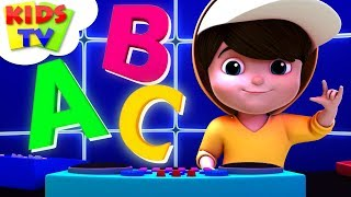 ABC Hip-Hop-Song | Junior Squad Cartoons | Kindergarten Kinderreime Für Kinder