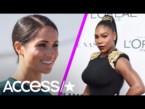 Serena Williams Praises Pal Meghan Markle On Her New Community Cookbook 'Together'